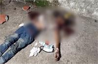 थाने के ठीक सामने युवक की हत्या, एक विक्षित युवक ने दूसरे विक्षित युवक की पत्थर मार कर की हत्या