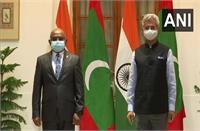 भारत, मालदीव ने सामुदायिक परियोजनाओं के लिए एक समझौते पर हस्ताक्षर किए
