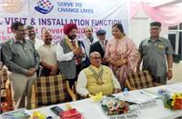 रोटरी क्लब पालमपुर की नई टीम गठित, राकेश विज बने अध्यक्ष
