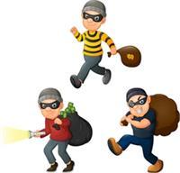 चोरों ने बंद घर और दुकान को बनाया निशाना