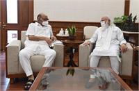 PM मोदी से मिले NCP नेता शरद पवार, करीब एक घंटे तक दिल्ली में चली बैठक