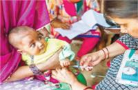 बच्चों के बुनियादी टीकाकरण में पिछड़ा भारत