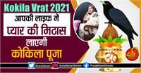 Kokila Vrat 2021: आपकी लाइफ में प्यार की मिठास लाएगी कोकिला पूजा