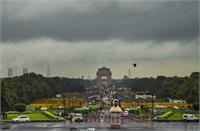 मानसून: दिल्ली में बारिश को लेकर ऑरेंज अलर्ट जारी, 10 साल में अधिकतम तापमान सबसे कम