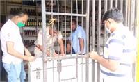शराब की अवैध बिक्री करने वाले दो ठेको पर छापेमारी, भारी मात्रा में बरामद हुई शराब
