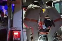यूपीः पंचर टायर का बहाना लेकरबारातियों की आई काल, तेज रफ्तारबस ने रौंदा, सात की मौत