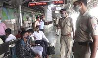 UP में 2 आतंकी मिलने बाद प्रयागराज रेलवे स्टेशन अलर्ट, RPF-GRP के जवानों ने तेज किया चेकिंग अभियान