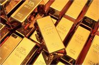 स्विजरलैंड से हुआ सोने का 'आधा आयत'