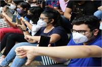 बंगाल हायर सेकेंडरी एग्जामिनेशन में असफल रहे छात्रों ने किया प्रदर्शन