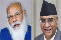 नेपाल के नए प्रधानमंत्री देउबा ने PM मोदी की बधाई का दिया जवाब, बताई अपनी इच्छा