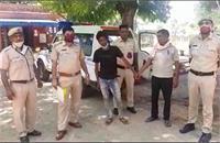 नशे की खातिर करता था लूट, पुलिस ने किया गिरफ्तार