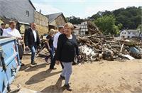 जर्मनी सरकार ने बाढ़ राहत के तौर पर 47.2 करोड़ डॉलर की पहली सहायता मंजूर की
