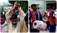 ललन सिंह के JDU का राष्ट्रीय अध्यक्ष बनने पर कार्यकर्ताओं में खुशी, कहीं बजे ढोल तो कहीं उड़े गुलाल