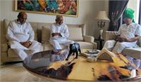 तीसरे मोर्चे की कवायद शुरु, बिहार के मुख्यमंत्री नीतीश कुमार ने ओपी चौटाला से की मुलाकात