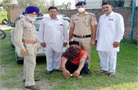 पुलिस के हाथ लगी बड़ी सफलता, धमोता में चिट्टे के साथ एक गिरफ्तार