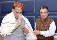 शहरी विकास मंत्री सुरेश भारद्वाज ने दिल्ली में डाला डेरा, केंद्रीय मंत्रियों से प्रदेश से जुड़े मसलों पर की चर्चा