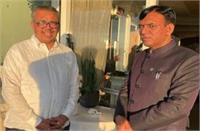 स्वास्थ्य मंत्री मनसुख मांडविया ने डब्ल्यूएचओ प्रमुख से की मुलाकात