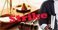 'वकील से मारपीट के विरोध में जिला अदालत में हड़ताल'