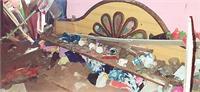 टी.वी. देख रहे परिवार पर गिरी छत 3 साल की बच्ची की मौत, 4 घायल