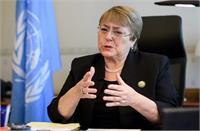 यूएनएचआरसी प्रमुख ने जम्मू-कश्मीर में संचार सेवाओं पर अस्थायी पाबंदी को लेकर भारत की आचोलना की