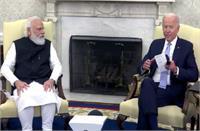 प्रधानमंत्री मोदी द्वारा लाए दस्तावेज दर्शाते हैं भारत में बाइडेन अमेरिकी राष्ट्रपति से जुड़े हैं