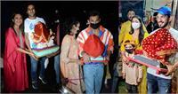 Ganesh Chaturthi 2021: धूम धड़ाके के साथ बप्पा को घर लाईं दिव्यंका त्रिपाठी, युविका-प्रिंस समेत इन स्टार्स के घर भी विराजे श्री गणेश