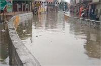 सोनीपत में बारिश ने खोली प्रशासन की पोल, बरसात में स्विमिंग पूल बन गया शहर का मुख्य अंडरपास