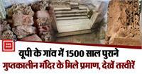 UP में मिले गुप्तकालीन मंदिर के 1500 साल पुराने अवशेष, तस्वीरों में देखिए प्राचीन काल की झलक