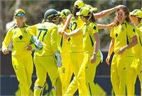 भारत का लचर प्रदर्शन, ऑस्ट्रेलियाई महिला टीम की लगातार 25वीं जीत
