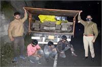 कुल्लू के सरसाड़ी में टिप्पर से देवदार के 27 स्लीपर बरामद, 3 लोग गिरफ्तार