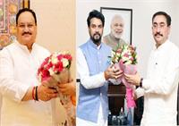 दिल्ली में राष्ट्रपति के बाद नड्डा-अनुराग को विधानसभा के विशेष सत्र का न्यौता
