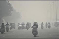 pollution continues in up air quality  very poor