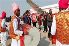 today diplomats from 71 countries reaching prayagraj