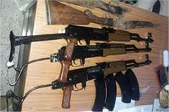 smuggling of ak 47 in jabalpur