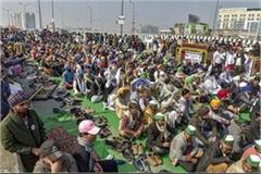 ghazipur border bku s peasant movement caught pace gathered