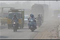 outbreak of air pollution in ncr  very bad  air recorded