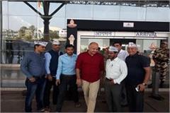 cg election deputy chief minister of delhi manish sisodia climbed raipur