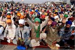 covid test will be done for farmers sitting on dharna masks will be distributed