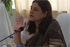 maneka gandhi bursting on sugarcane farmers said why do you plant sugarcane