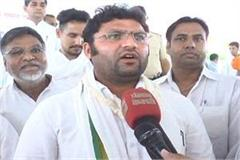 congress candidate tanwar violated code of conduct