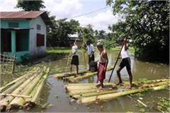 up increasing flood problem 792 villages in 16 districts affected