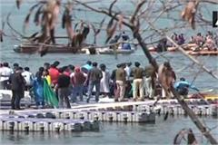 boat overturned by ips officers in bhopal