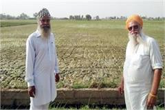 dry water grain farmer