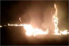 mathura fire in doordarshan center loss of millions of rupees