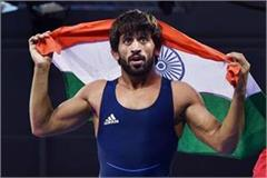 wrestler bajrang punia nominated for rajiv gandhi khel ratna award
