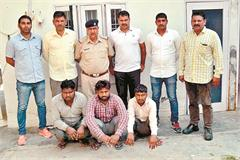 tata ace thieves who steal goods gang