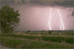 she was cutting sorghum crop in farm sky struck by lightning death