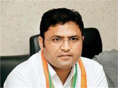 ashok tanwar congrats to grand alliance for his succes in bihar election