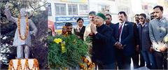 shimla lala lajpat rai death anniversary virbhadra singh
