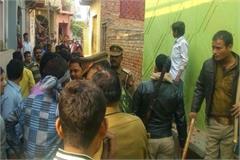 pilibhit procession policemen